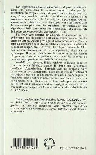 4eme Les expositions internationales au XXè siècle et le bureau international des expositions
