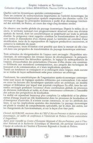 4eme Vingt-cinq ans d'évolution de l'industrie et des territoires français