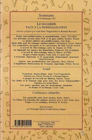 4eme Le Maghreb face à la mondialisation