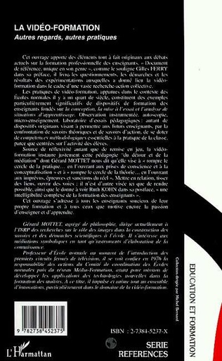 4eme LA VIDÉO -FORMATION