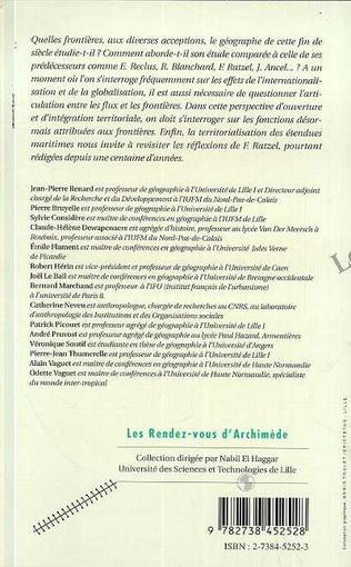 4eme Le géographe et les frontières