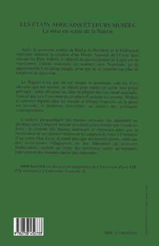 4eme Les Etats africains et leurs musées