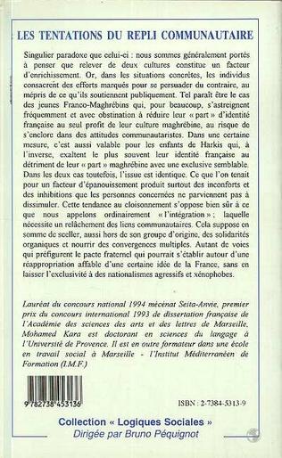 4eme LES TENTATIONS DU REPLI COMMUNAUTAIRE