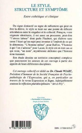 4eme LE STYLE, STRUCTURE ET SYMPTOME