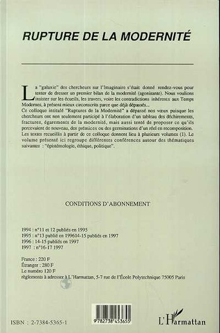 4eme Epistémologie, éthique et politique
