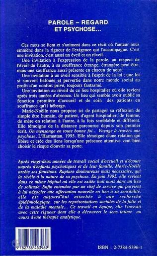 4eme Parole, regard et psychose