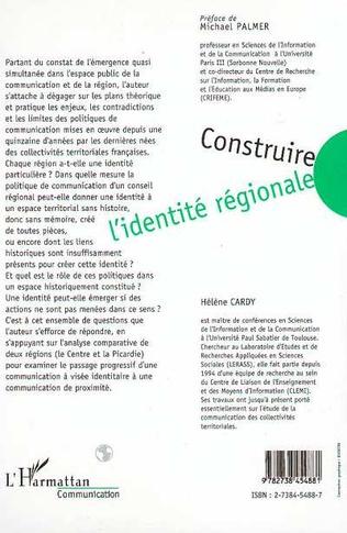 4eme Construire l'identité régionale