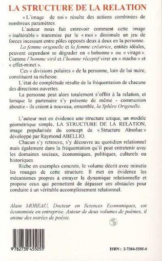 4eme LA STRUCTURE DE LA RELATION