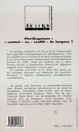 4eme Plurilinguisme, contact ou conflit de langues