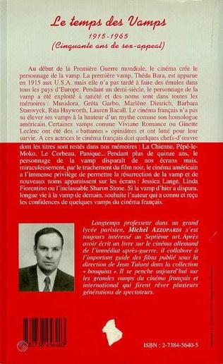 4eme Le temps des vamps 1915-1965