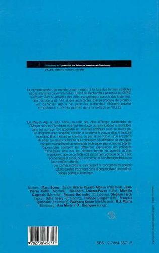 4eme Enjeux et expression de la politique municipale (XIIè-XXè Siècles)