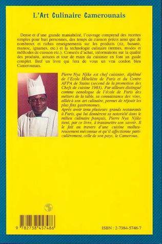 L Art Culinaire Camerounais Pierre Nya Njike Livre Ebook Epub