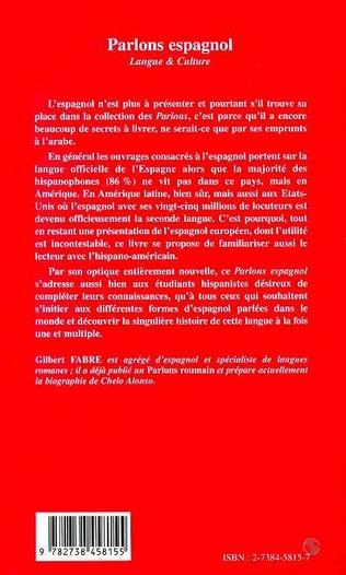 4eme PARLONS ESPAGNOL