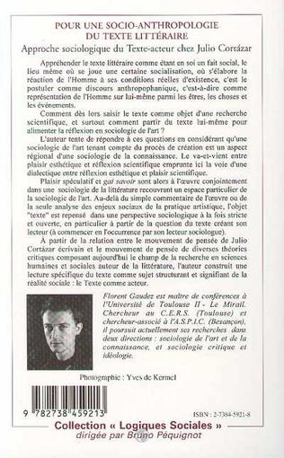 4eme Pour une socio-anthropologie du texte littéraire