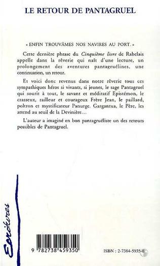 4eme LE RETOUR DE PANTAGRUEL