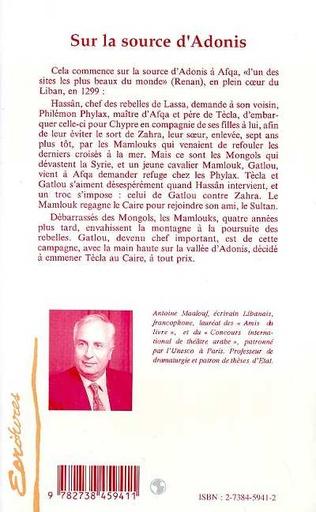 4eme SUR LA SOURCE D'ADONIS