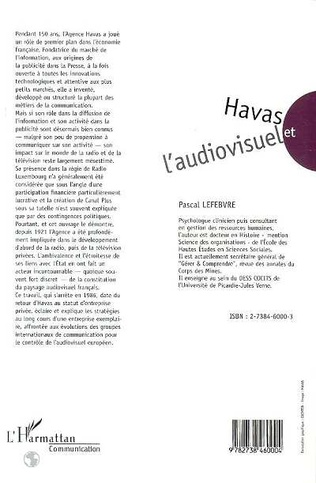 4eme Havas et l'audiovisuel 1920-1986