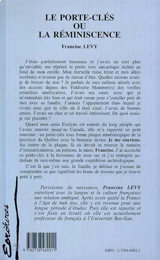 4eme Le Porte-Clés ou la Réminiscence
