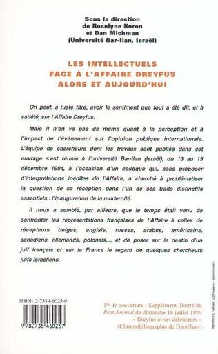 4eme Les Intellectuels face à l'affaire Dreyfus alors et aujourd'hui