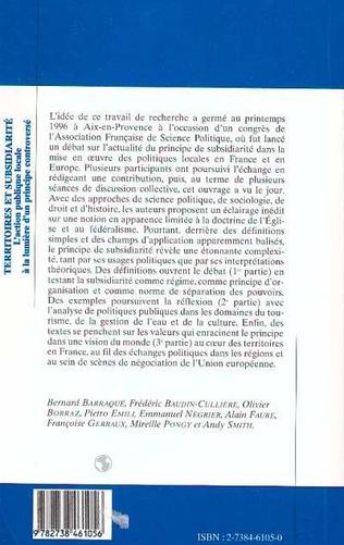 4eme Territoires et Subsidiarité