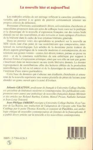 4eme Le long et le court : une nouvelle de Proust