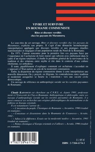 4eme Vivre et Survivre en Roumanie Communiste