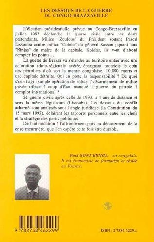 4eme Les Dessous de la Guerre du Congo-Brazzaville