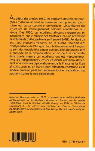 4eme Les étudiants africains en France (1950-1965)