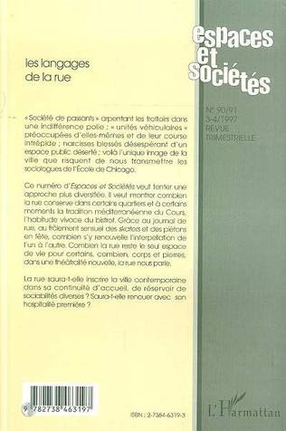 4eme LES LANGAGES DE LA RUE (n° 90-91)