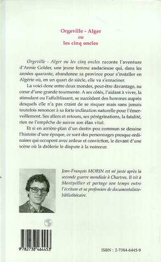 4eme Orgeville-Alger ou les cinq oncles