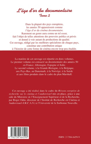 4eme L'AGE D'OR DU DOCUMENTAIRE