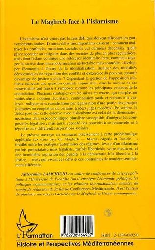 4eme LE MAGHREB FACE A L'ISLAMISME
