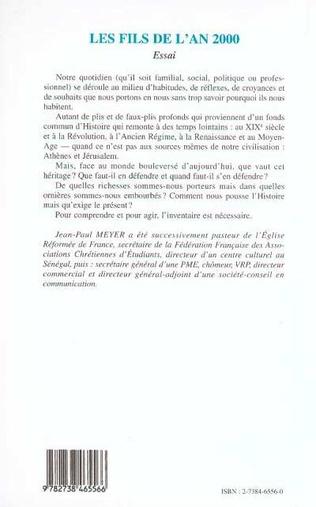 4eme Les Fils de l'an 2000