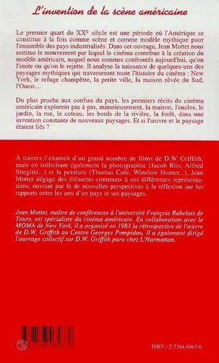 4eme L'INVENTION DE LA SCÈNE AMÉRICAINE