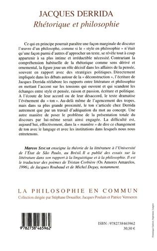 4eme Jacques Derrida