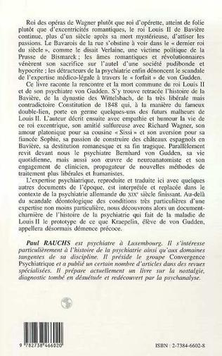 4eme Louis II de Bavière et ses Psychiatres
