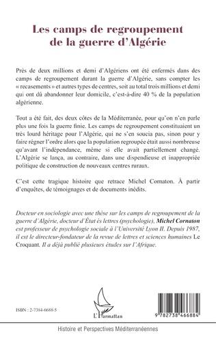 4eme LES CAMPS DE REGROUPEMENT DE LA GUERRE D'ALGÉRIE