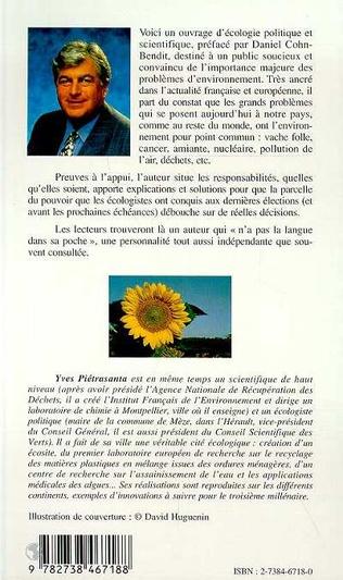 4eme L'écologie, Clé de la Politique