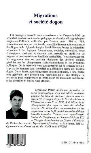 4eme Migrations et Société Dogon