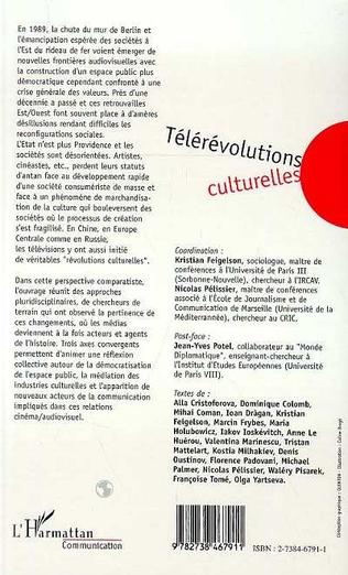 4eme Télérévolutions Culturelles
