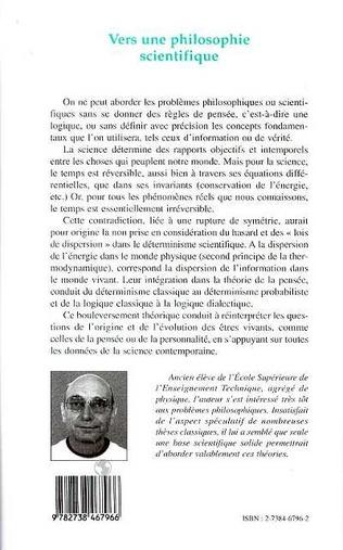 4eme Vers une Philosophie Scientifique