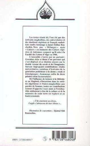 4eme CAHIERS JAMEL EDDINE BENCHEIKH