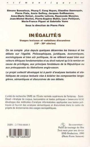 4eme INÉGALITÉS