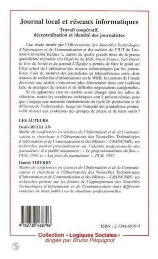 4eme Journal Local et Réseaux Informatiques