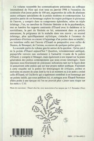 4eme Eluard à Cent Ans