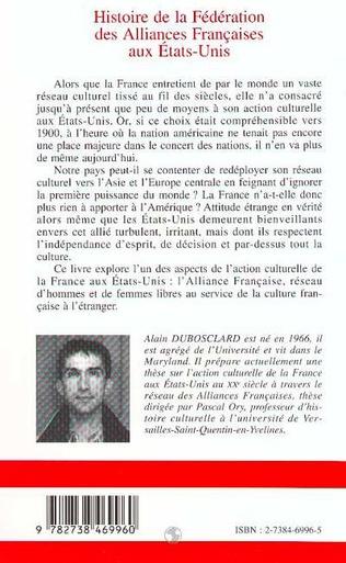 4eme Histoire de la Fédération des Alliances Françaises aux Etats-Unis