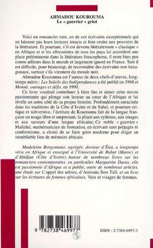 4eme Ahmadou Kourouma