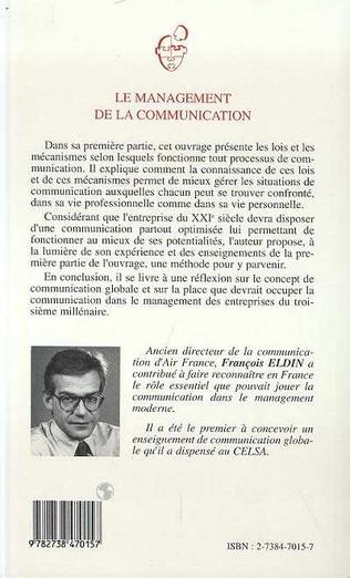 4eme Le Management de la Communication