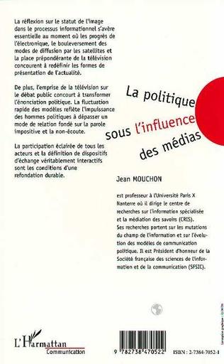 4eme La Politique sous l'influence des Médias