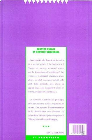 4eme Service public et service universel